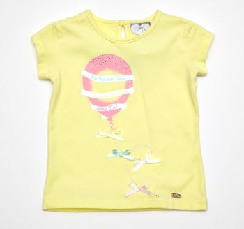 A*Dee Balloon T-Shirt - Lemon - 5 and 6 years remaining
