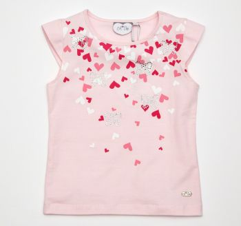 A*Dee Heart T-Shirt - 6m and 9m remaining