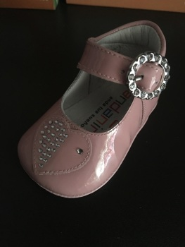 Girls Andanines Soft Sole Shoes 172893 - Pink