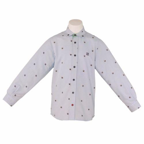 Boys Nel Blu Blue Shirt 1308
