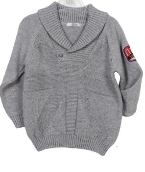 Boys Dr Kid Grey Sweater DK608