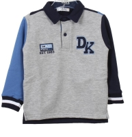 Boys dr Kid Grey, Blue and Navy Sweater DK622