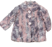 Girls Dr Kid Pink and Grey Jacket DK374