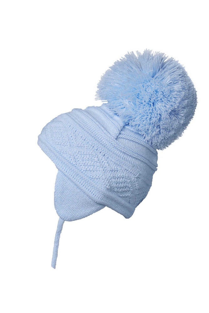 Satila Pom Pom Hat Zelma Blue