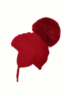 Satila Pom Pom Hat Zelma Red