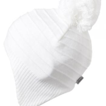 Satila Pom Pom Hat Hillock White