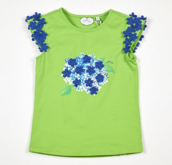 Girls A*Dee Hydragena Trixy T Shirt - 2 years only