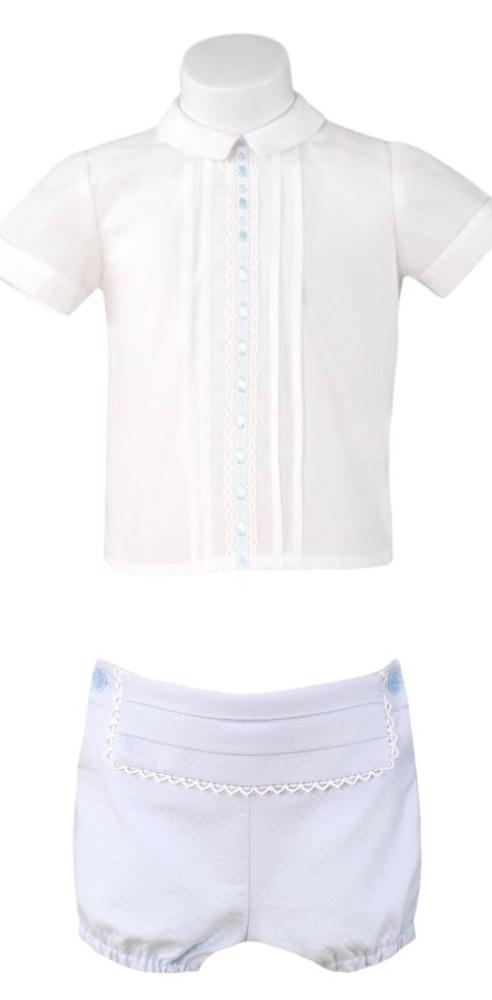 Boys Miranda Blue and White Set 189