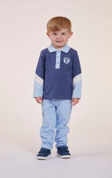 Boys Mitch & Son Football Star Champion Collection Preston Polo Shirt - Available in 6m