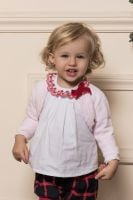 Girls Dolce Petit Red and Navy Set 2102