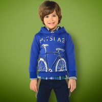 Mayoral Mini Boys Hooded Sweatshirt 4434