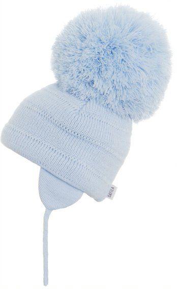 Satila Pom Pom Hat Tuva Blue - Biggest Pom Pom