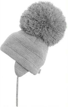 Satila Pom Pom Hat Tuva Grey - Biggest Pom Pom