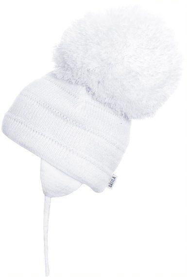 Satila Pom Pom Hat Tuva White - Biggest Pom Pom