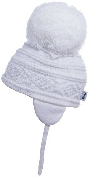Satila Pom Pom Hat Zelma White