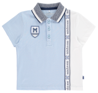 Boys Mitch & Son Sports Star Collection Pine Polo and Shearer Shorts Set - Blue