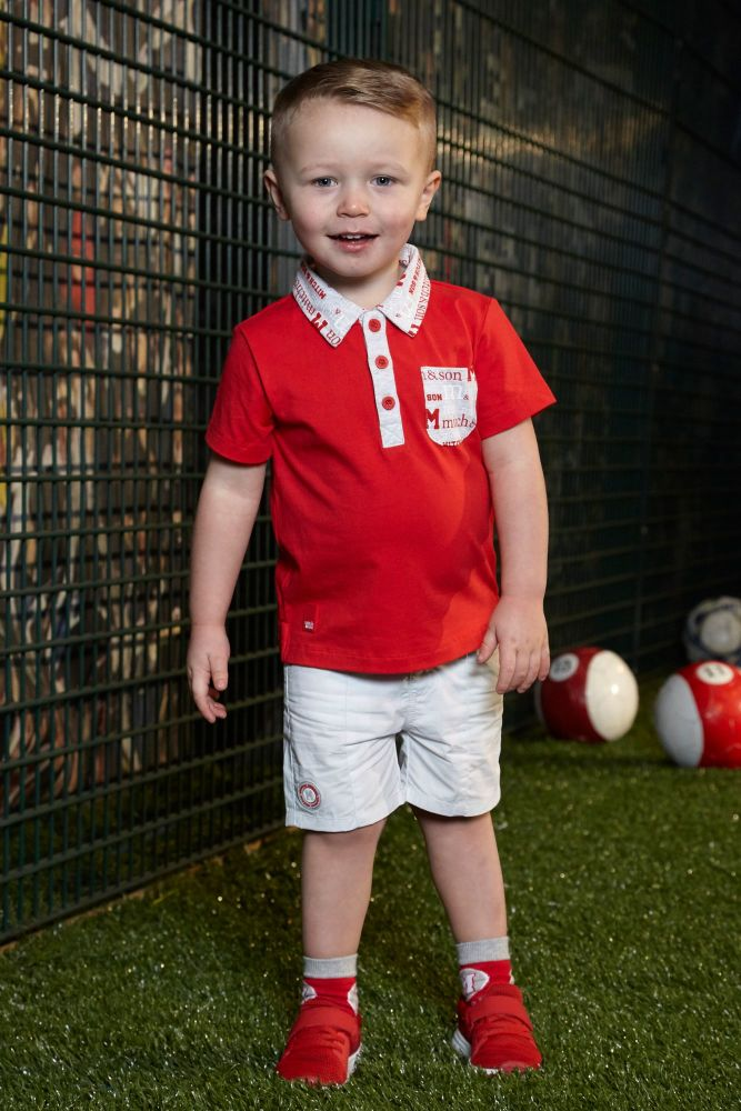 PRE ORDER SS19 Boys Mitch & Son Summer Reds Collection Pierre Polo a