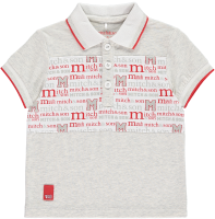 Boys Mitch & Son Summer Reds Collection Patrick Polo and Sonny Shorts Set  - Available in 12m and 18m