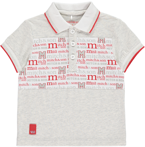 PRE ORDER SS19 Boys Mitch & Son Summer Reds Collection Patrick Polo