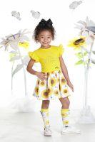 Girls A*Dee Sunflower Collection Debbie Dress S192702