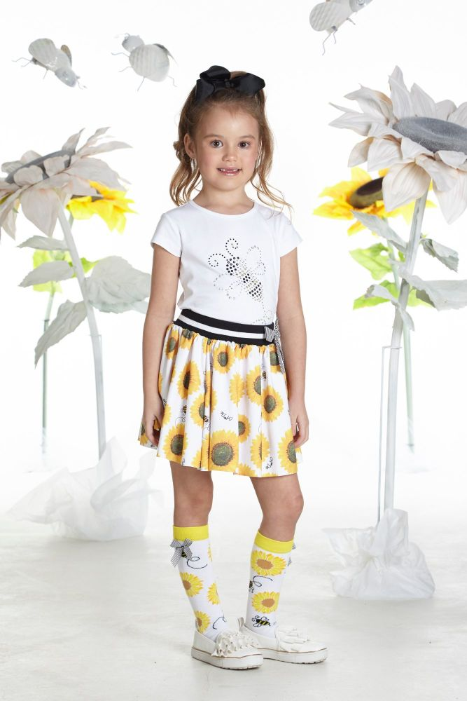 PRE ORDER SS19 Girls A*Dee Sunflower Collection Tilly Top and Shaz S