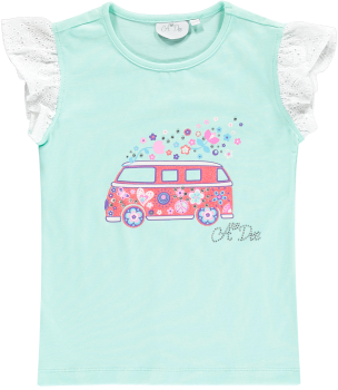 Girls A*Dee Peace and Love Collection Tabitha Top and Selma Skirt S194610/4405 - 2,4 and 10 years remaining