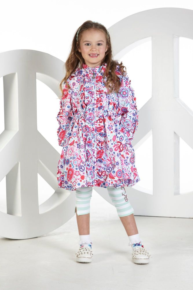 PRE ORDER SS19 Girls A*Dee Peace and Love Collection Jamie Jacket S1