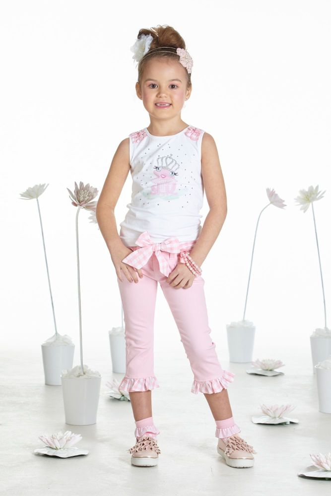 PRE ORDER SS19 Girls A*Dee Waterlily Love Collection Tonya Top and S