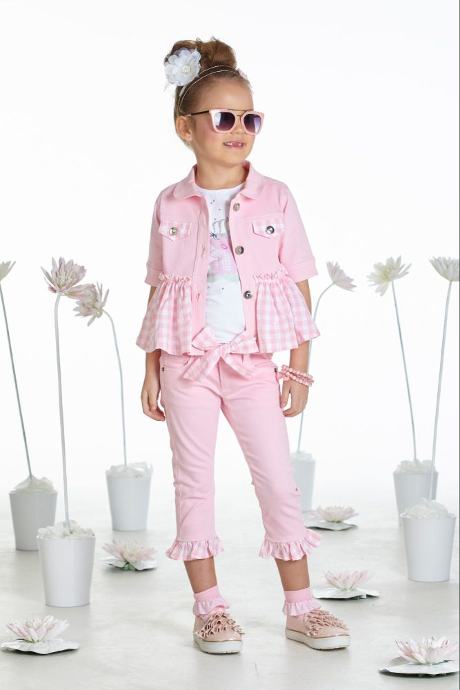 PRE ORDER SS19 Girls A*Dee Waterlily Love Collection Julie Jacket S1