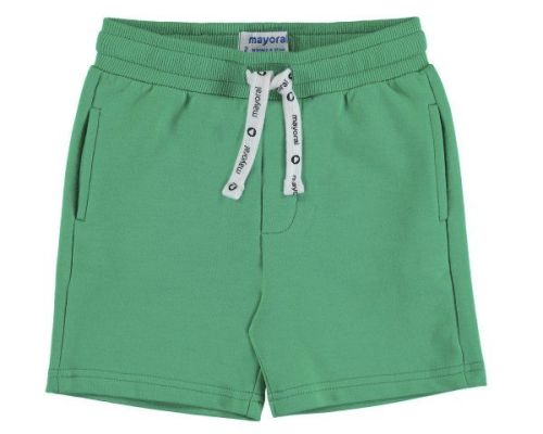 PRE ORDER SS19 Boys Mayoral Mini Fleece Shorts 611 - Seaweed 15