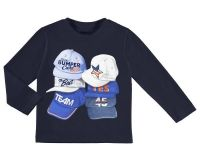 Boys Mayoral Mini Long Sleeved Top 3048 - Navy - Available in 8 years