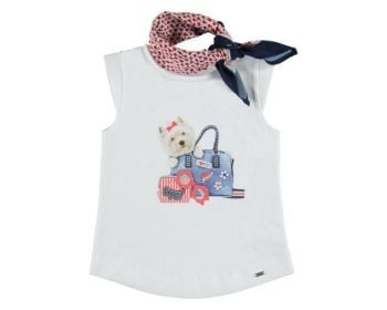 Girls Mayoral Mini Top 3019 - Available in 2y