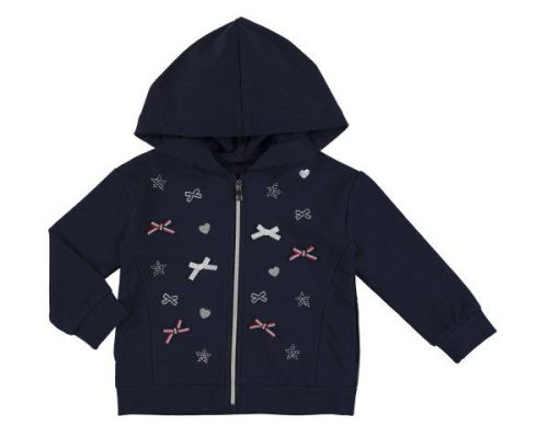 PRE ORDER SS19 Girls Mayoral Mini Hooded Top 3412