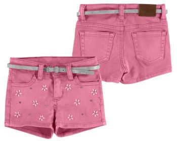Girls Mayoral Mini Shorts 3206 - Chewingum - Available in 6y