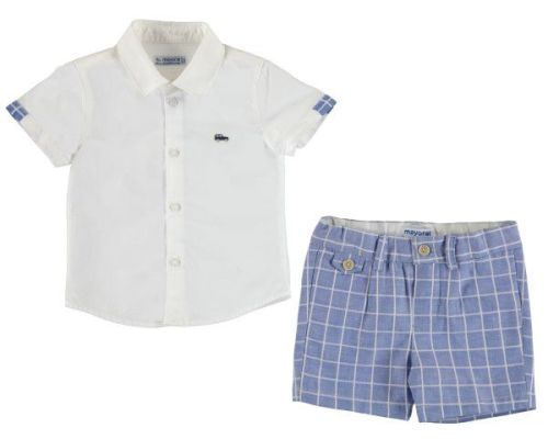 PRE ORDER SS19 Boys Mayoral Baby 2 Piece Set 1252