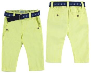 Boys Mayoral Baby Chino Trousers and Belt 1523