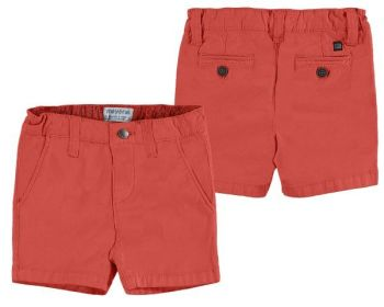 Boys Mayoral Baby Shorts 207 - Red - Available in 12m