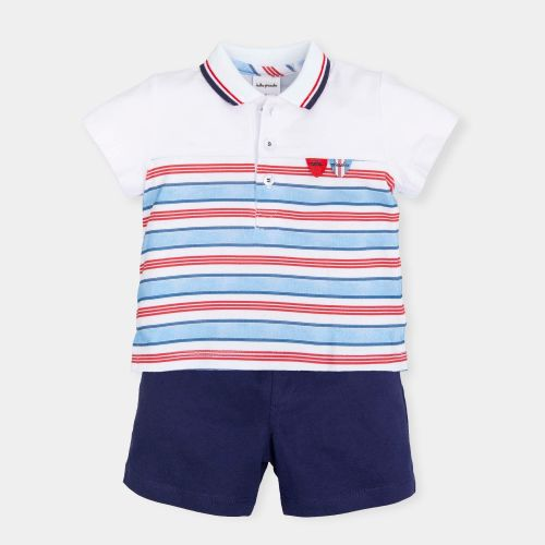 PRE ORDER SS19 Boys Tutto Piccolo 2 Piece Set 6690
