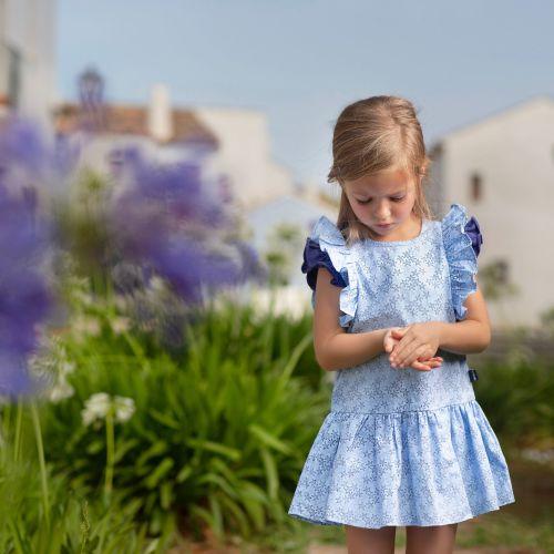 PRE ORDER SS19 Girls Tutto Piccolo Dress 6440