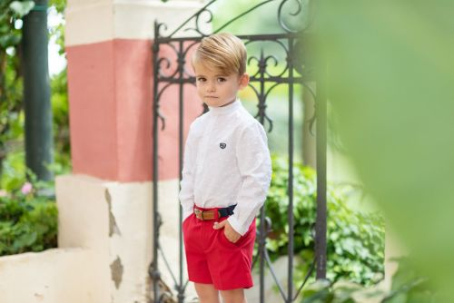 PRE ORDER SS19 Boys Dolce Petit Shirt and Shorts 2217 and Belt