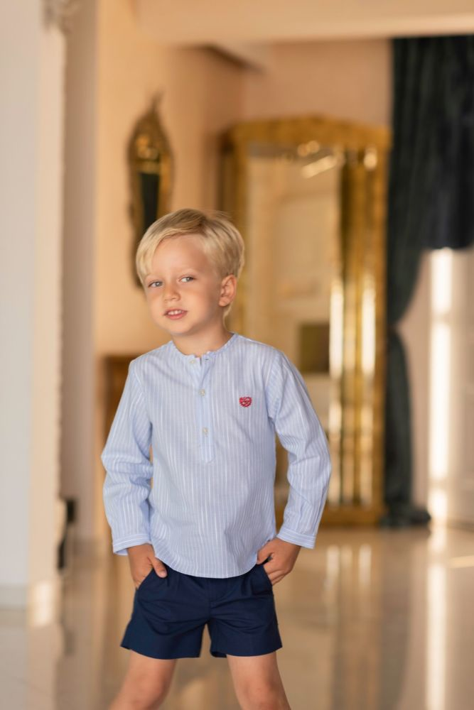 PRE ORDER SS19 Boys Dolce Petit Shirt and Shorts 2263