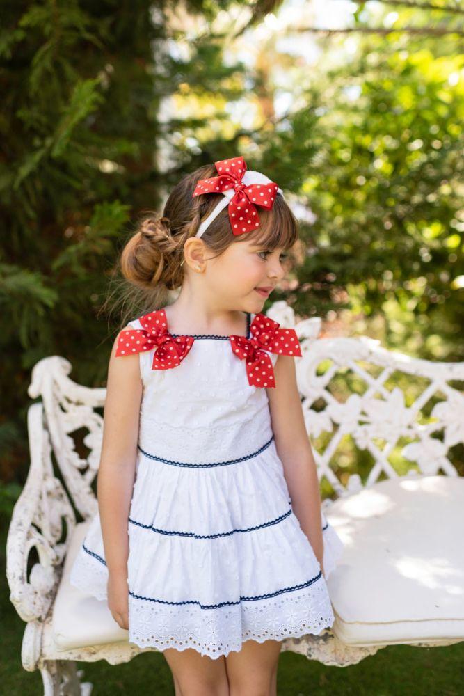 PRE ORDER SS19 Girls Dolce Petit Dress 2215