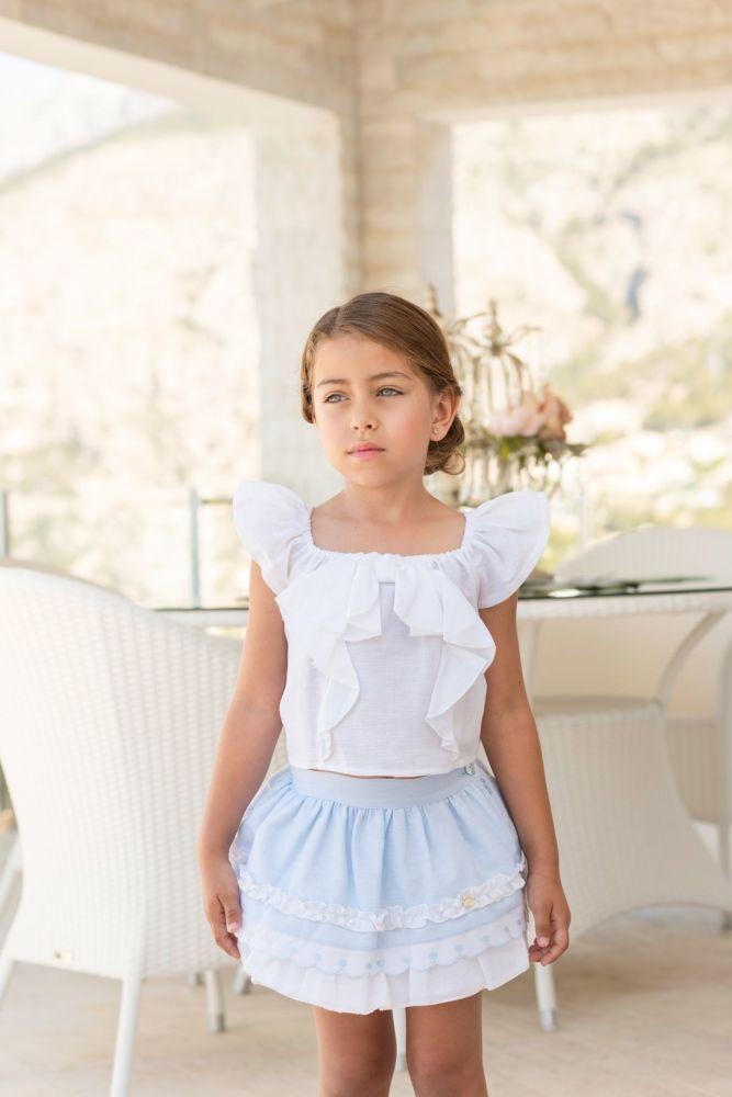 PRE ORDER SS19 Girls Dolce Petit Skirt Set 2230