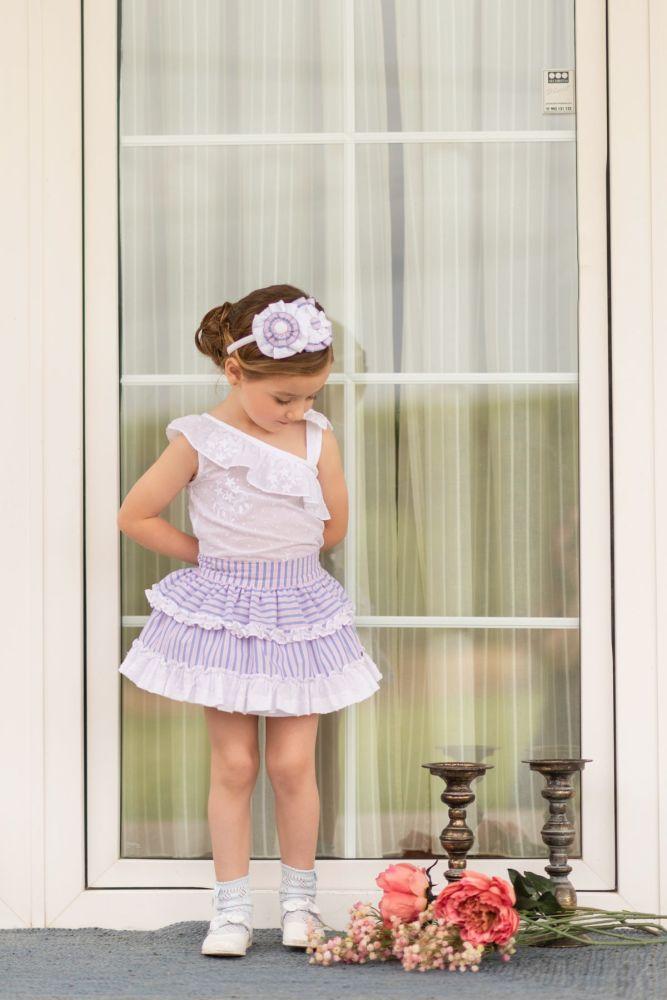 PRE ORDER SS19 Girls Dolce Petit Skirt Set 2233