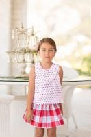 CLEARANCE PRICE Girls Dolce Petit Skirt Set 2238 Available in 2 years