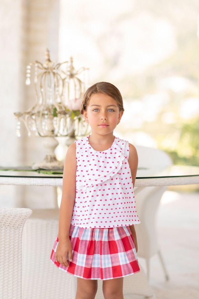PRE ORDER SS19 Girls Dolce Petit Skirt Set 2238