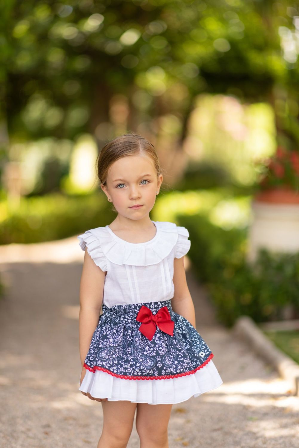 Pre Teen Nn Pics: Girls Dolce Petit Skirt Set 2260
