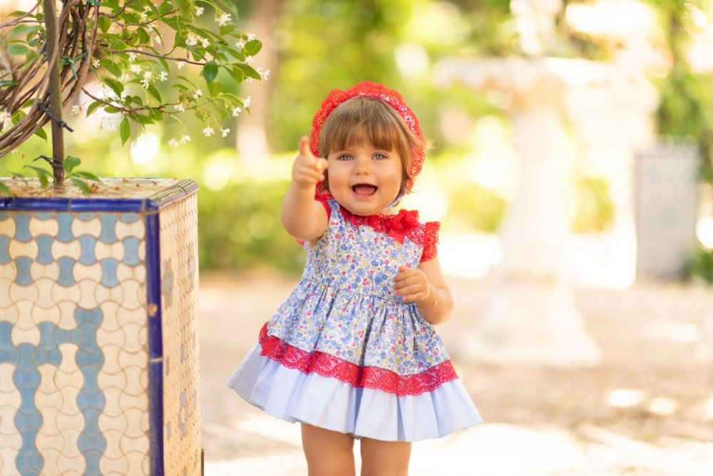 Girls Dolce Petit Dress And Pants 2155