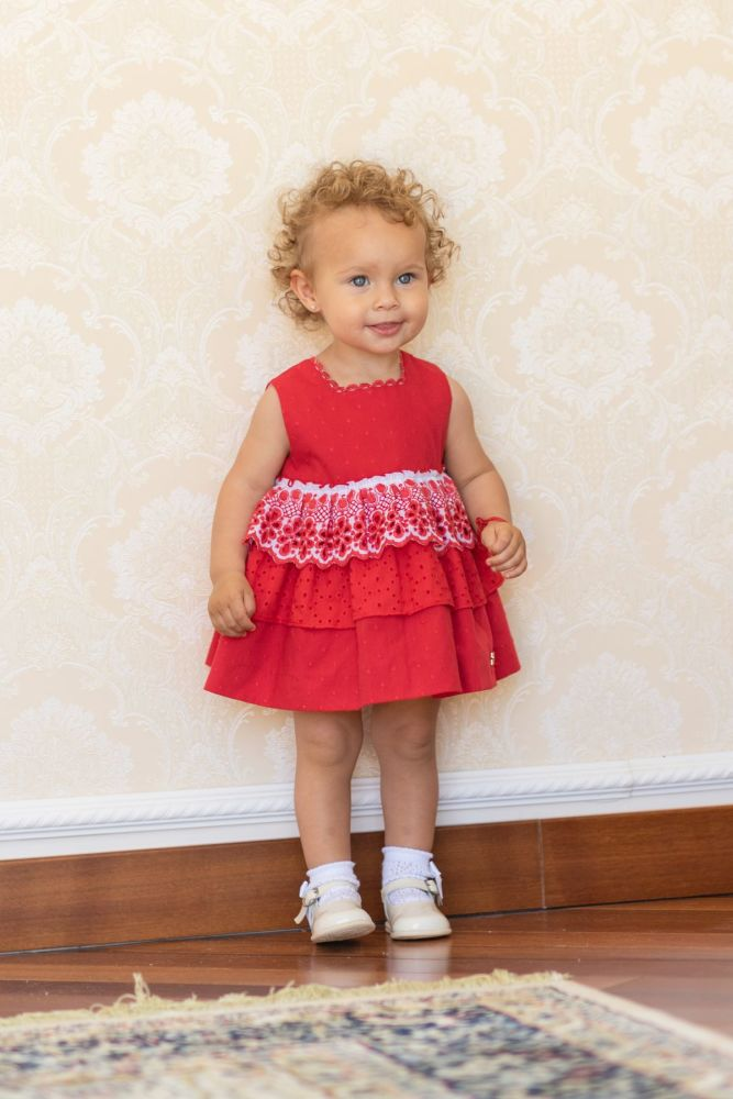 PRE ORDER SS19 Girls Dolce Petit Dress and Pants 2118