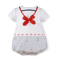 Boys Miranda Sailor Romper 64